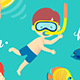 Summer Kids Set - GraphicRiver Item for Sale