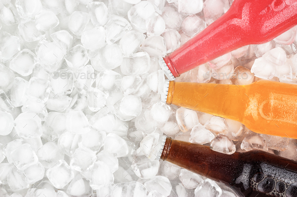 Sugar Drinks On Ice  - Stock Photo - Images