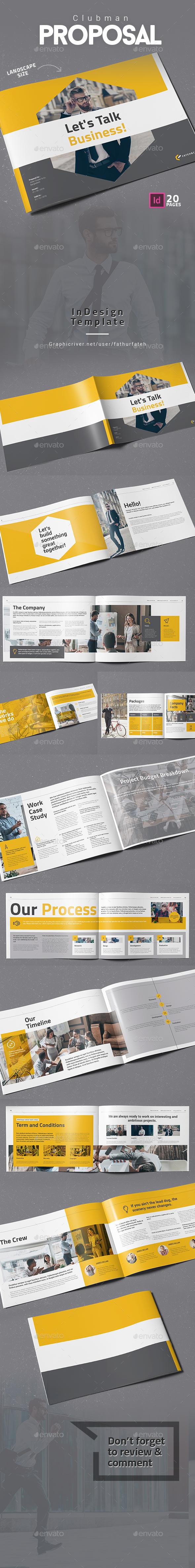 Clubman Proposal Landscape - Corporate Brochures