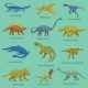 Dinosaurs Set - GraphicRiver Item for Sale
