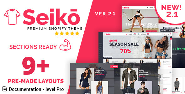 Seiko - Shopify Theme (NEW 2.1) - Fashion Shopify