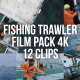 Collection of a Sailor on a Commercial Fishing Trawler - Pack of 12 Clips - VideoHive Item for Sale