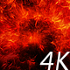Flying Through Bright Red Space Nebula - VideoHive Item for Sale