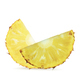 Pineapple sliced on white background - PhotoDune Item for Sale
