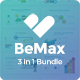BeMax Premium 3 in 1 Bundle Keynote Template - GraphicRiver Item for Sale