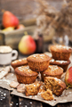 Fresh homemade delicious oat and wholegrain muffins - PhotoDune Item for Sale