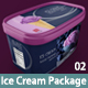 Ice Cream Package Mock up 02 - GraphicRiver Item for Sale