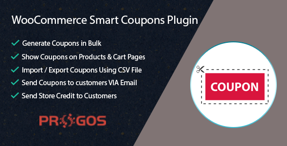WooCommerce Smart Coupons Plugin – Extended Coupon Code Generator            Nulled