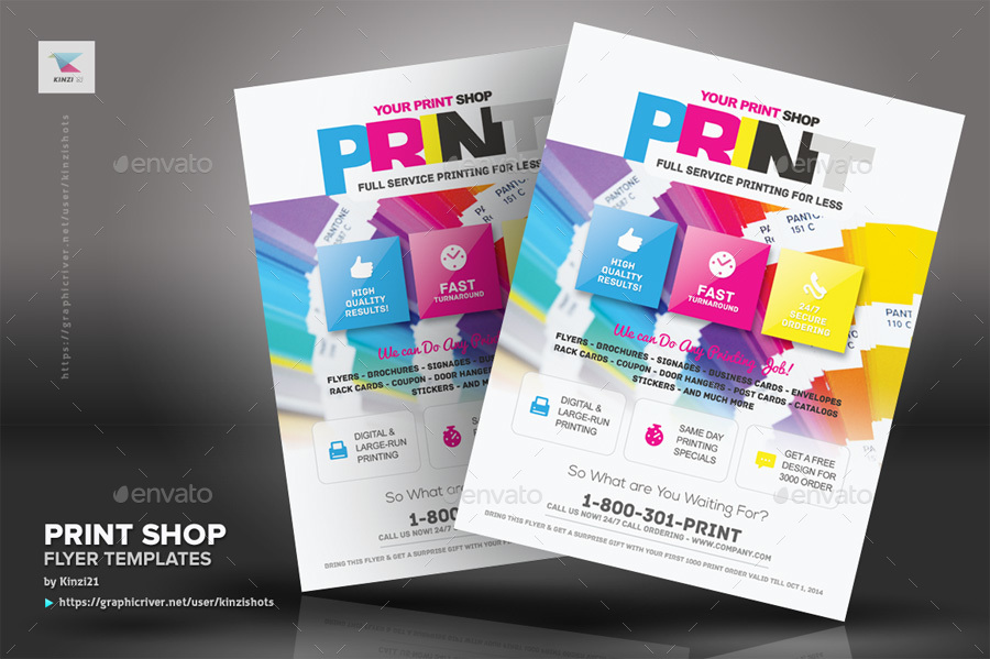 Print shop flyer template by kinzishots graphicriver new screenshots01graphic river print shop flyer template kinzi21g reheart Choice Image