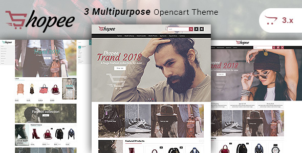 Shopee - Multipurpose Responsive Fashion Opencart 3 Theme - Fashion OpenCart