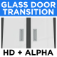 Glass Door Transition - VideoHive Item for Sale