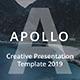 Apollo 2019 - Creative Google Slide Template - GraphicRiver Item for Sale