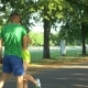 Healthy Athletic Man Drinking Water After Running - VideoHive Item for Sale