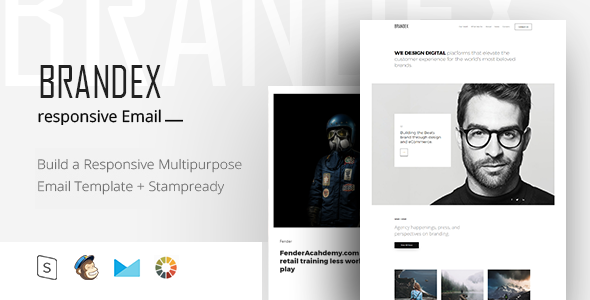 BRANDEX - Responsive Email + StampReady Builder - Email Templates Marketing