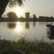 Wooden Boat at Sunset - VideoHive Item for Sale