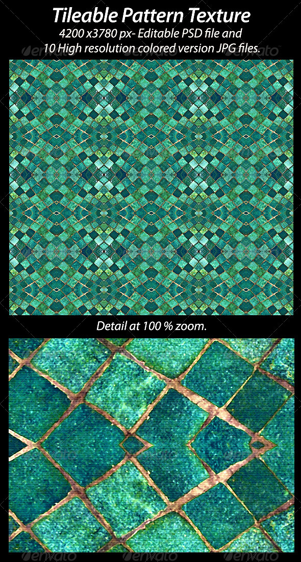Tileable Pattern Texture - Fabric Textures