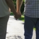 Senior Couple Holding Hands During a Walk - VideoHive Item for Sale