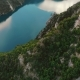 Aerial View To Clear Blue Mountain Lake, Montenegro - VideoHive Item for Sale