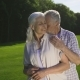 Tender Romantic Moment of Retired Senior Couple - VideoHive Item for Sale