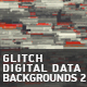 Glitch Digital Data Backgrounds 2 - VideoHive Item for Sale