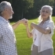 Happy Senior Aged Couple Dancing Outdoors on Lawn - VideoHive Item for Sale