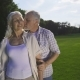 Affection and Love of Senior Couple - VideoHive Item for Sale