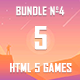 5 HTML5 Games + Mobile Version!!! BUNDLE №4 (Construct 2 / CAPX) - CodeCanyon Item for Sale