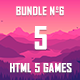 5 HTML5 Games + Mobile Version!!! BUNDLE №6 (Construct 2 / CAPX) - CodeCanyon Item for Sale