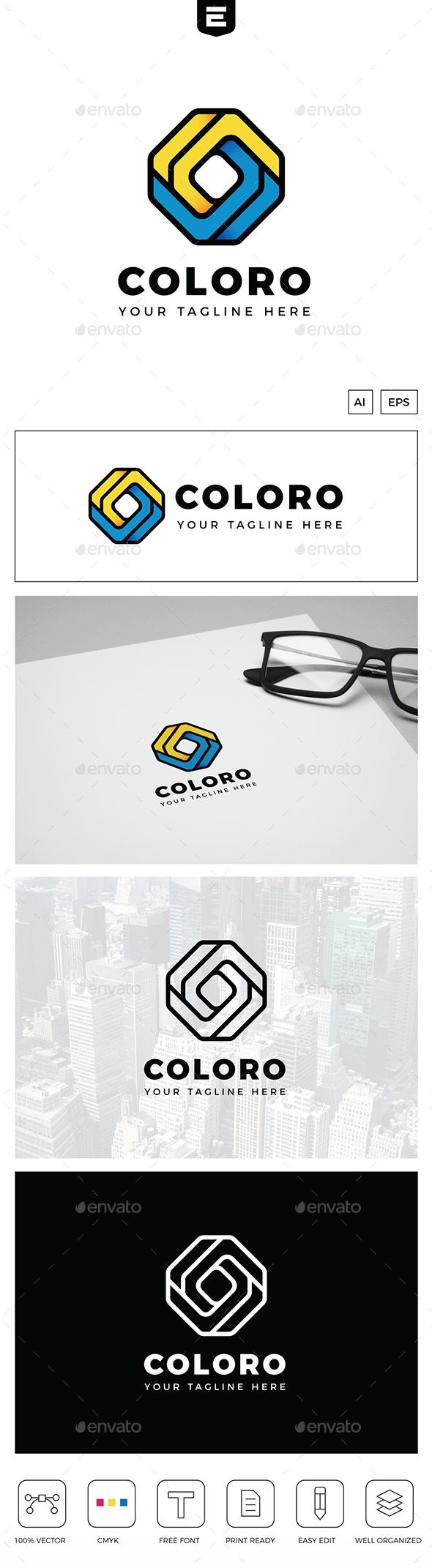 Color Square Logo