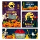 Halloween Banner of Horror Party Invitation Design - GraphicRiver Item for Sale