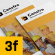 Construction 3 fold Brochure - InDesign Template