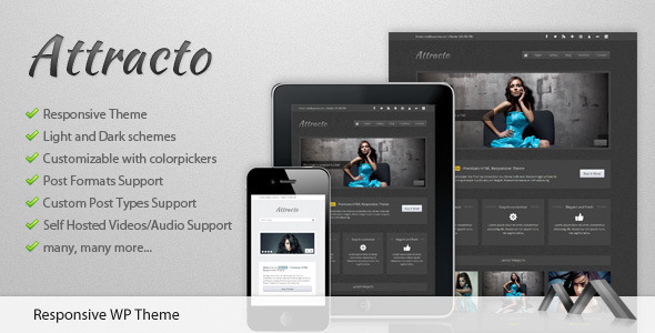 Attracto WP - Responsive Theme - Photography Creative