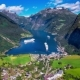 Geiranger Fjord, Beautiful Nature Norway  - VideoHive Item for Sale