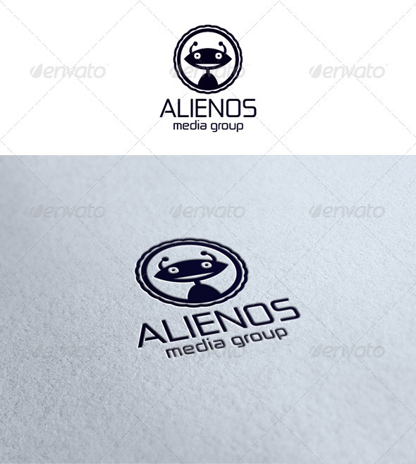 Alien Logo - Vector Abstract