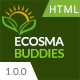 Ecosma Buddies - Environmental Campaign & Activism HTML5 Template - ThemeForest Item for Sale