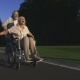 Delighted Disabled Woman Enjoying with Husband - VideoHive Item for Sale