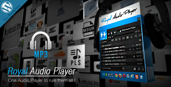 Royal Audio Player Wordpress Plugin - CodeCanyon Item for Sale