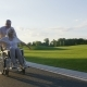 Retired Couple, Wife on Wheelchair Enjoying Life - VideoHive Item for Sale