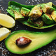 Fresh avocado fruit on a wooden board - PhotoDune Item for Sale