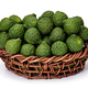 Kaffir lime in basket of wicker, for herbal medicine - PhotoDune Item for Sale