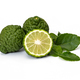 Kaffir limes, bergamot fruit on white background - PhotoDune Item for Sale