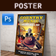 Country Music Poster - GraphicRiver Item for Sale