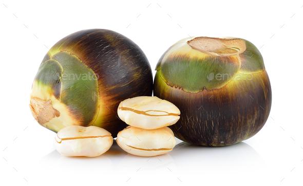 Asian Palmyra palm, Toddy palm, Sugar palm - Stock Photo - Images