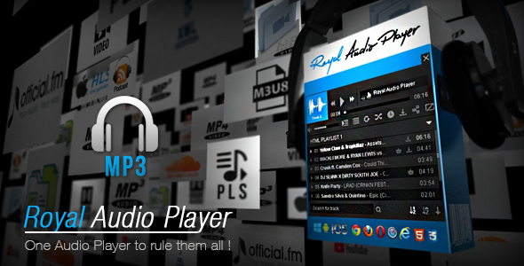 Royal Audio Player - CodeCanyon Item for Sale