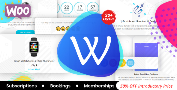 WooPro | WooCommerce Responsive Email Template + Subscriptions + Bookings + Memberships Compatible - Email Templates Marketing