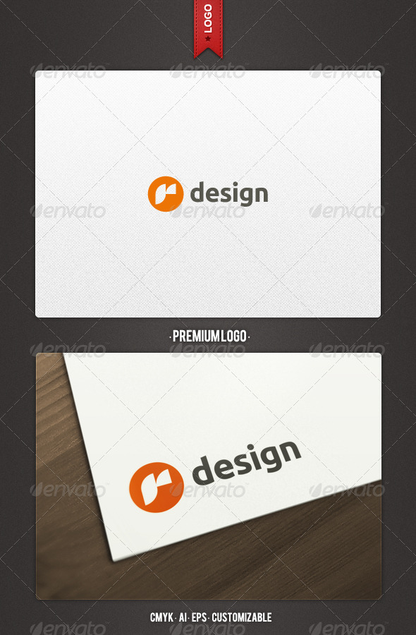 R Design Logo Template - Letters Logo Templates