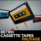 Retro Cassette Tapes Package - VideoHive Item for Sale