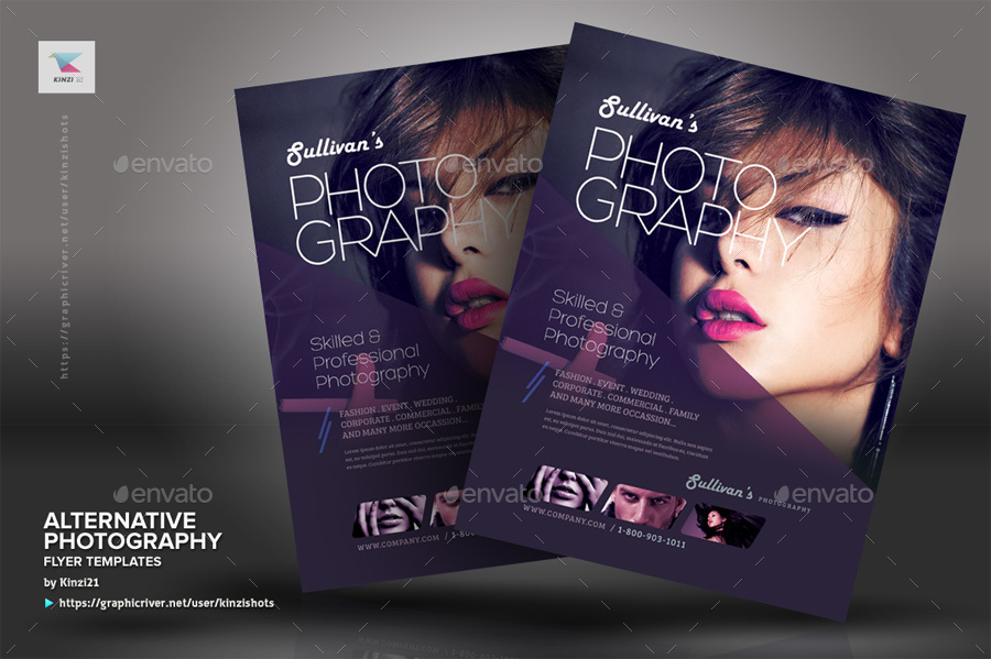 Alternative Photography Flyer Template By Kinzishots Graphicriver