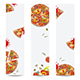 Pizza Set Banners - GraphicRiver Item for Sale