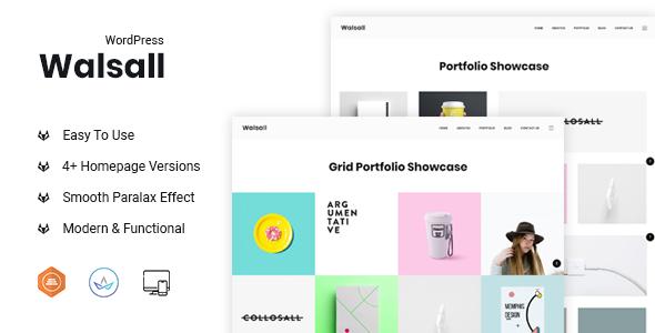 Image of Walsall - Minimal Digital Agency WordPress Theme